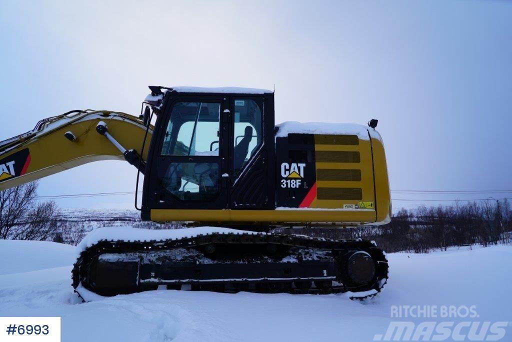 Caterpillar M318F excavator