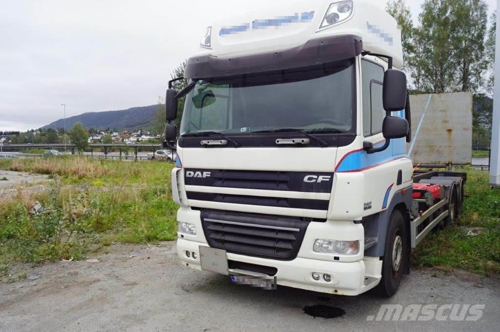 DAF CF 85.460 container truck with lift