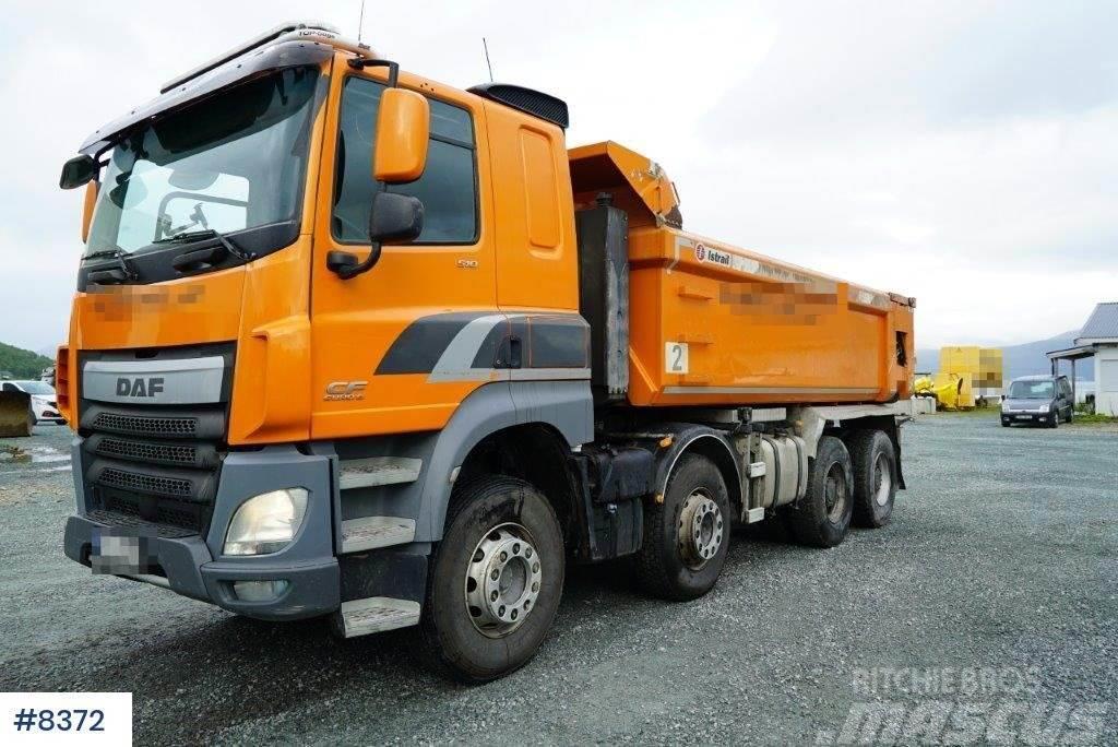 DAF CF85 8x4 tipper truck