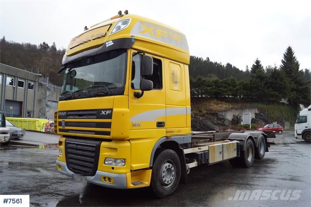 DAF XF 105.510 Container truck with Istrail trailer WA