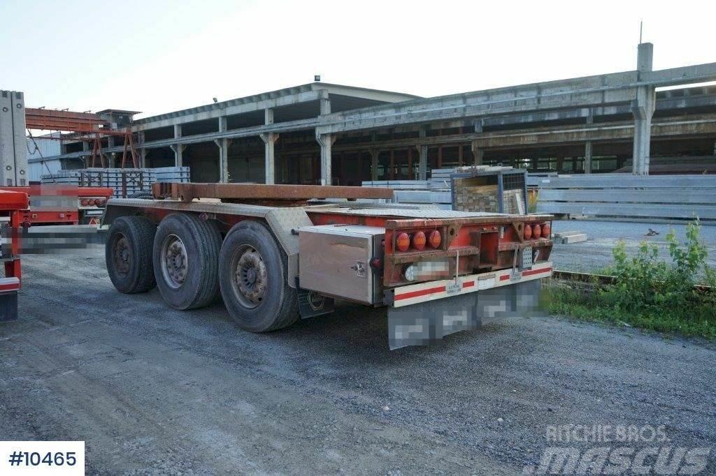 Engen 3PV-270-LSH push-out trailer
