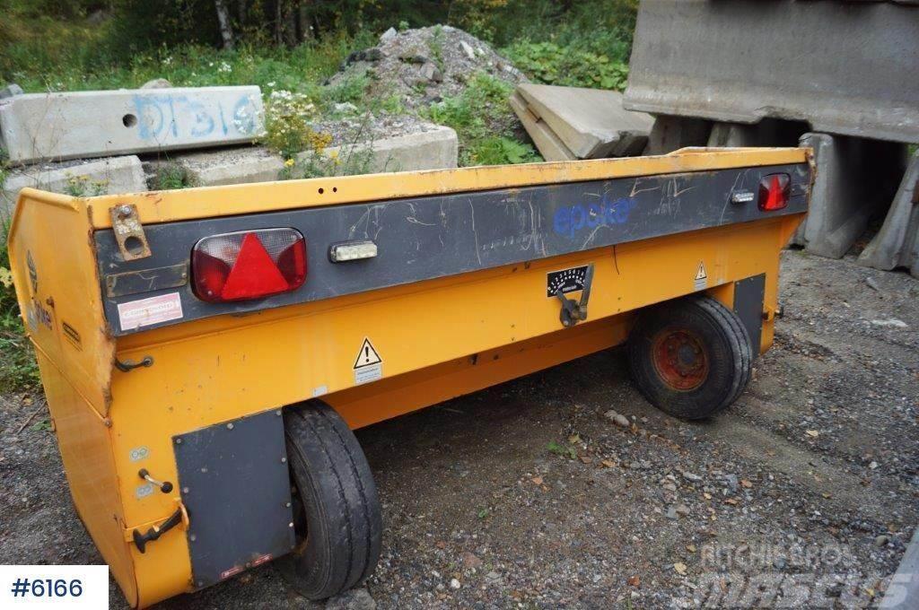 Epoke TKB 12-2800 mm sand spreader for truck