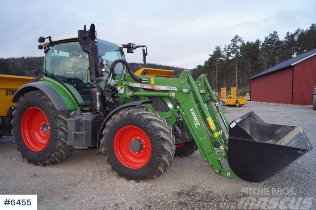 Fendt 513 traktor w / loader