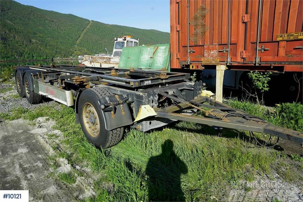 Fliegl container trailer