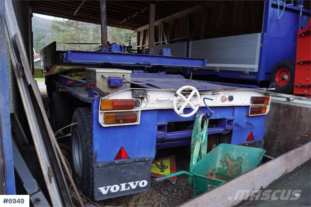 Glogger SK20 Long load trailer with 2 stools for turntable