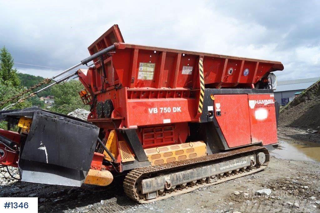 Hammel 750D waste mill