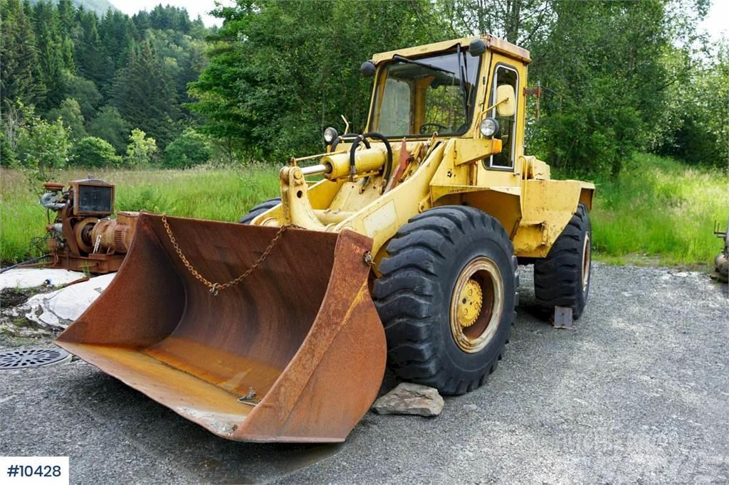 Hanomag 55C Wheel loader with bucket WATCH VIDEO
