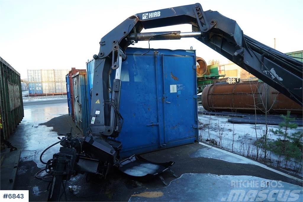 Hiab 144E-5 Hiduo 15t / M crane parts object