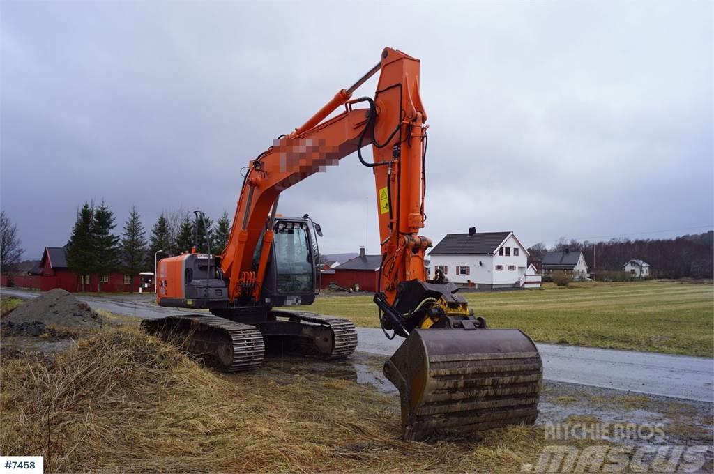 Hitachi Zaxis 180LC-3 excavator
