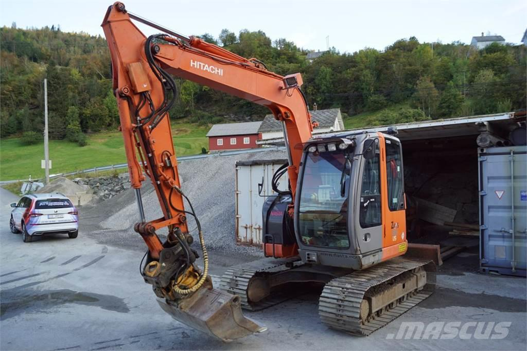 Hitachi ZX85US w/rotortilt and 2 buckets