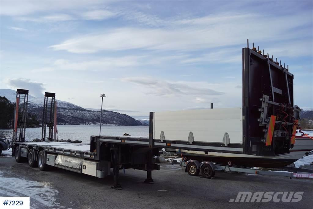 HRD 3 Axle Machine Semi with manual extension + wideni