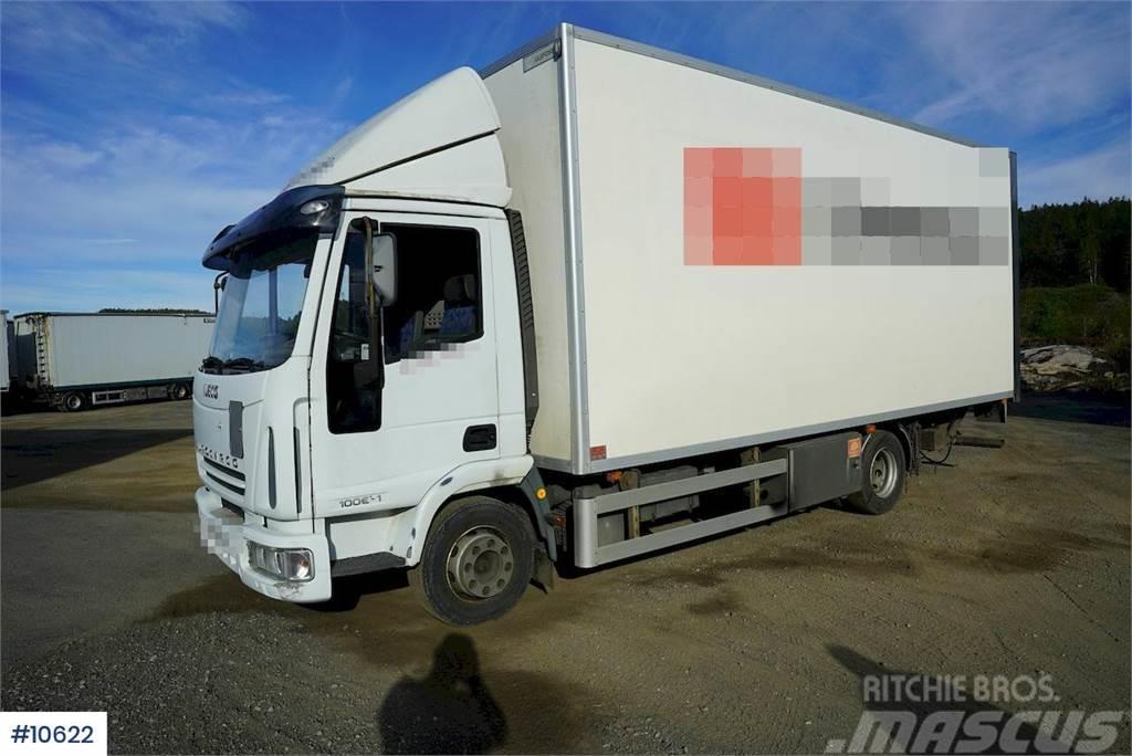 Iveco 100E21 boxtruck w/lift
