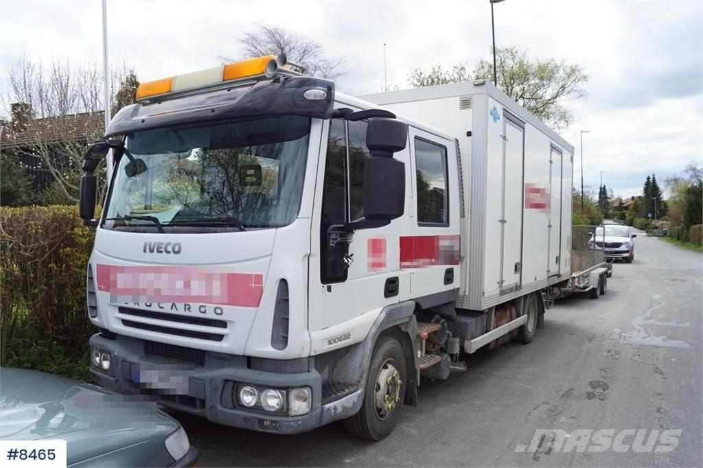 Iveco 100E22 4x2 Crew truck