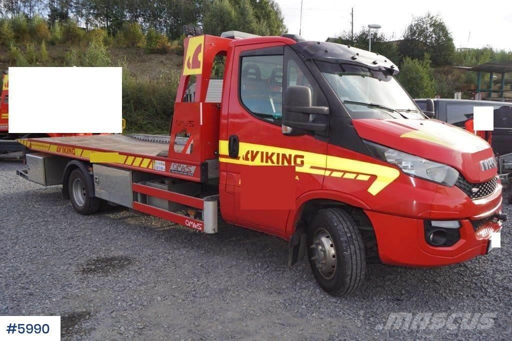 Iveco Daily 70 bergingsbil WATCH VIDEO