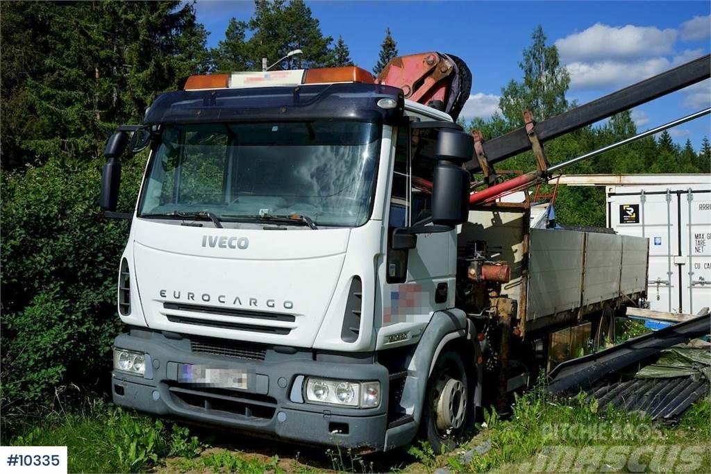 Iveco Eurocargo 160E30 Crane truck. REP OBJECT