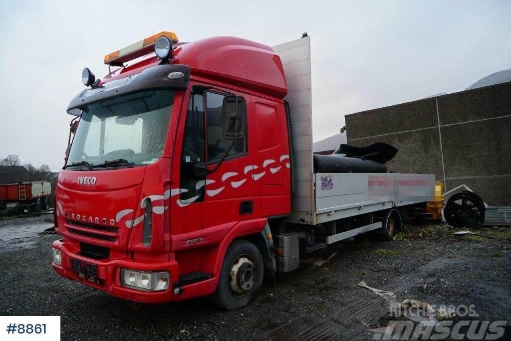 Iveco Eurocargo 75E18 flatbed truck
