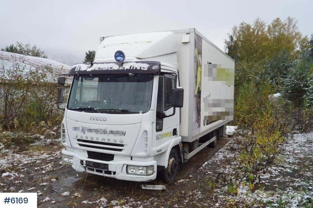 Iveco Eurocargo w/lift and sidedoor. Rep. object