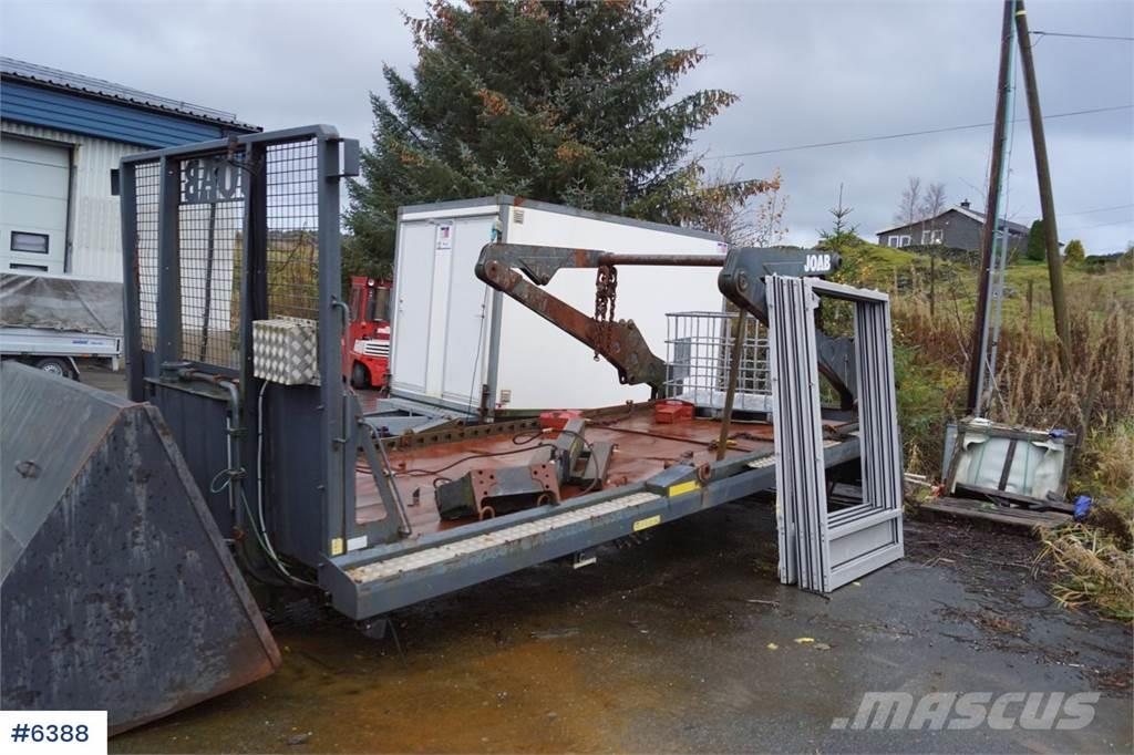 Joab VL18 U 5860AA Lift dump build with extension. Rep.