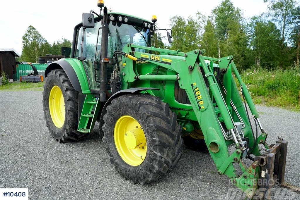John Deere 6920S w/ front loader