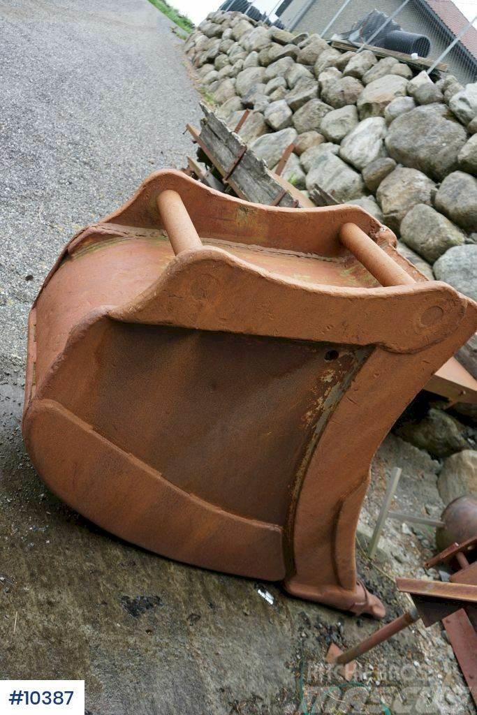 Klepp Mek trench bucket. 1.050 liters. 90 coupling