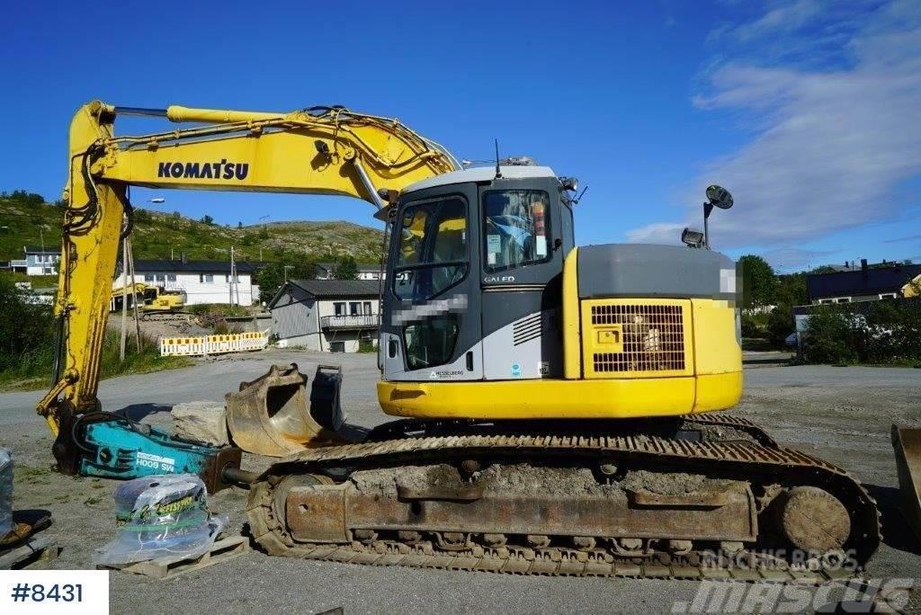 Komatsu PC228US excavator
