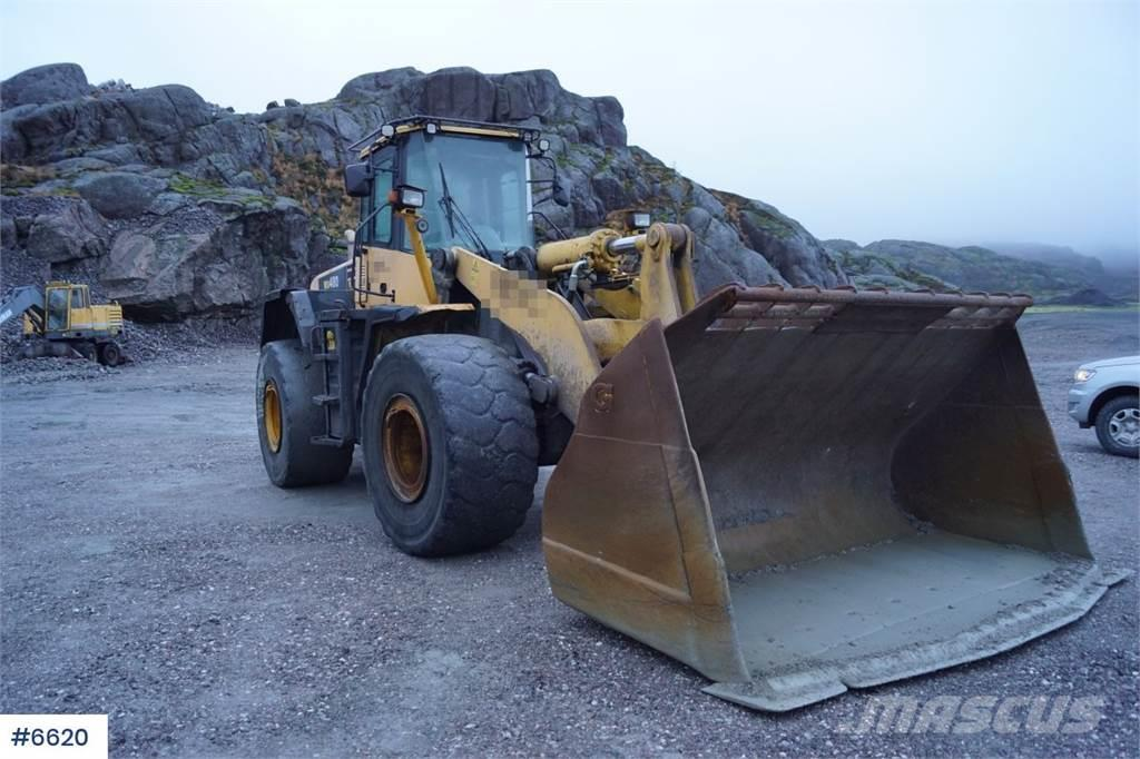 Komatsu WA480-5H Wheel loader with lever control and centr