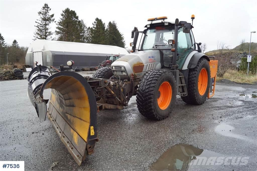 Lamborghini R6.165.7 4x4 Snow rigged tractor with sprinkler. W