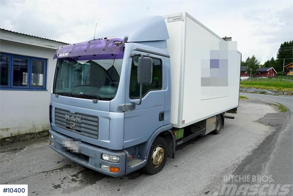 MAN TGL 8.180 4x2 Box truck w/ lift