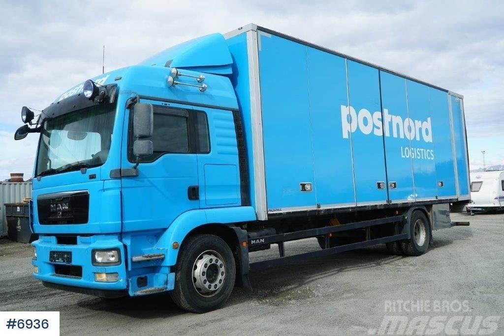 MAN TGM 18.340 box truck