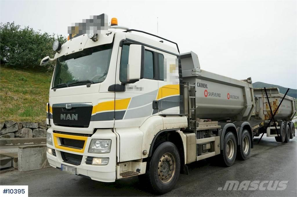 MAN TGS 26.540 6x4 Tipper truck with alloy wheels, Car