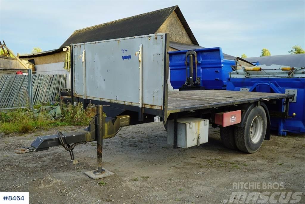Maur 1 axle trailer