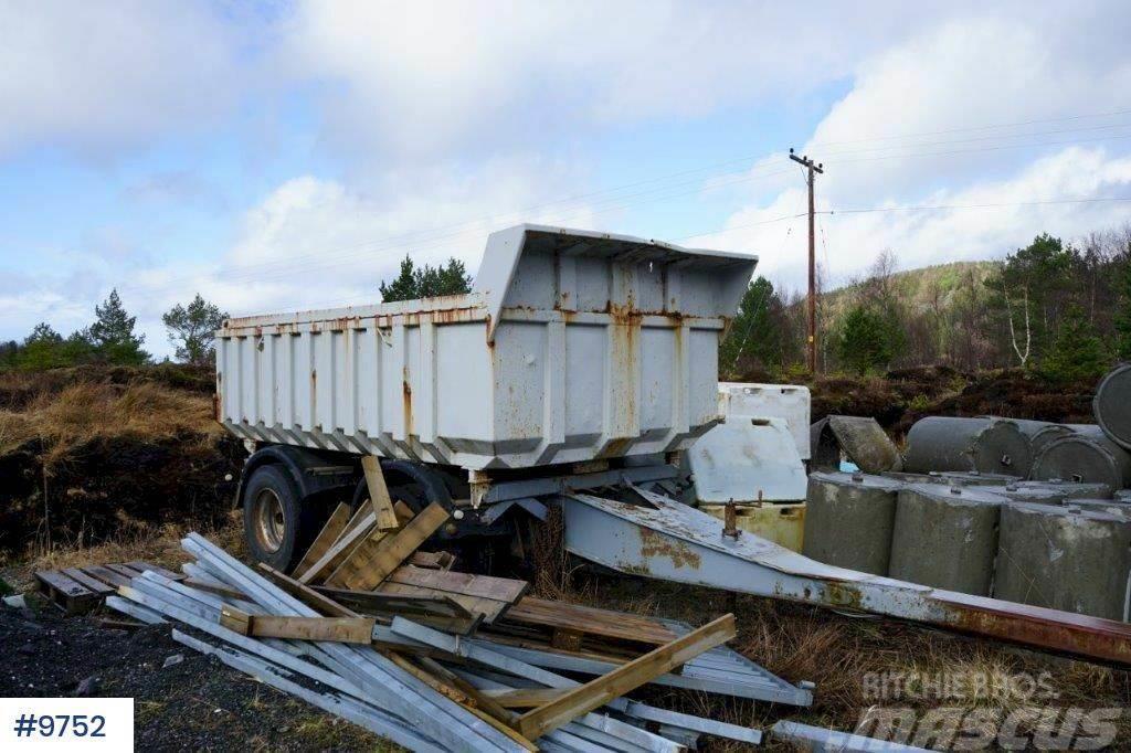 Maur 2 axle tipper trailer