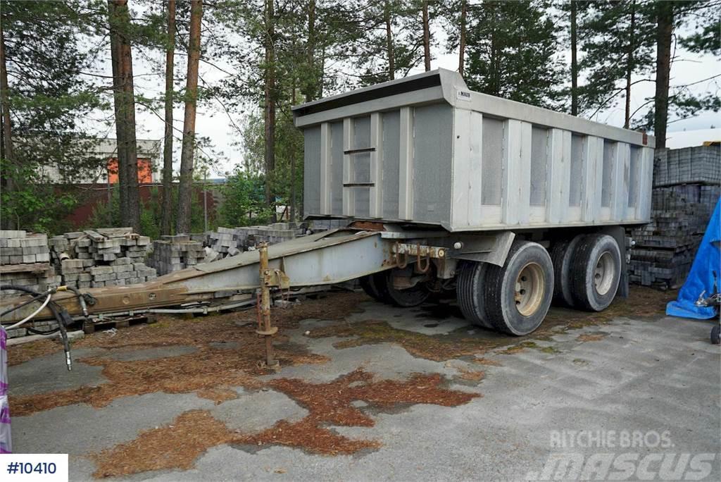 Maur bogie trailer