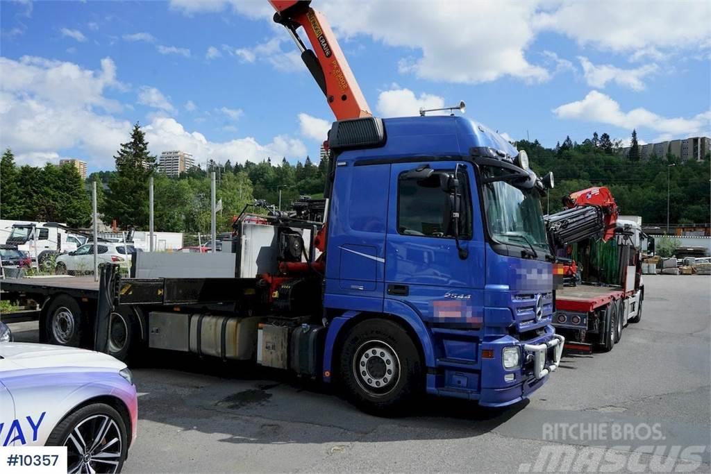 Mercedes-Benz 2544L mw/Palfinger 23002 Crane truck