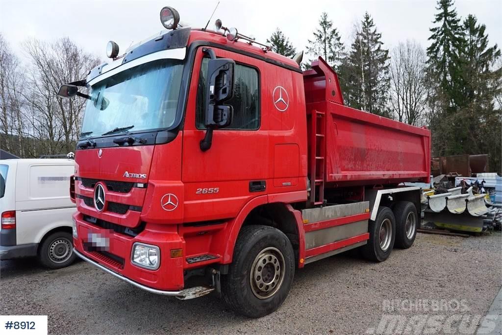 Mercedes-Benz Actros 2655 6x4 tipper truck