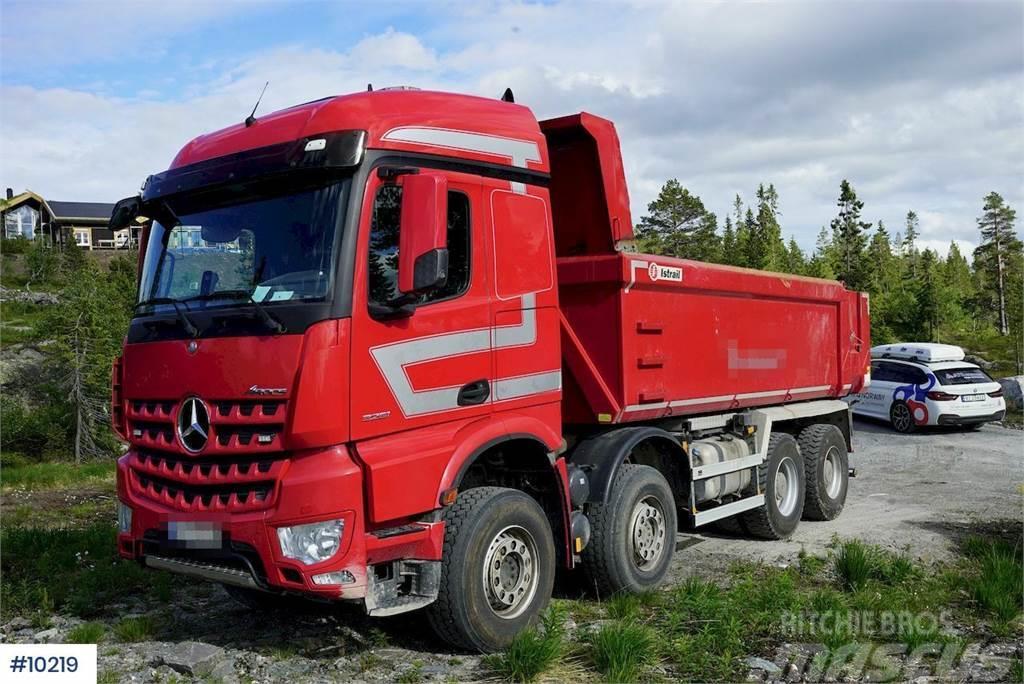 Mercedes-Benz Arocs 3251 8x4 tipper truck