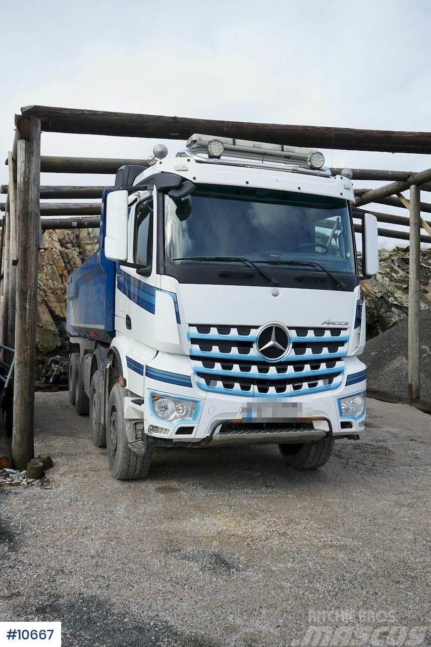 Mercedes-Benz Arocs Euro 6 8x4 Full Steel Tipper