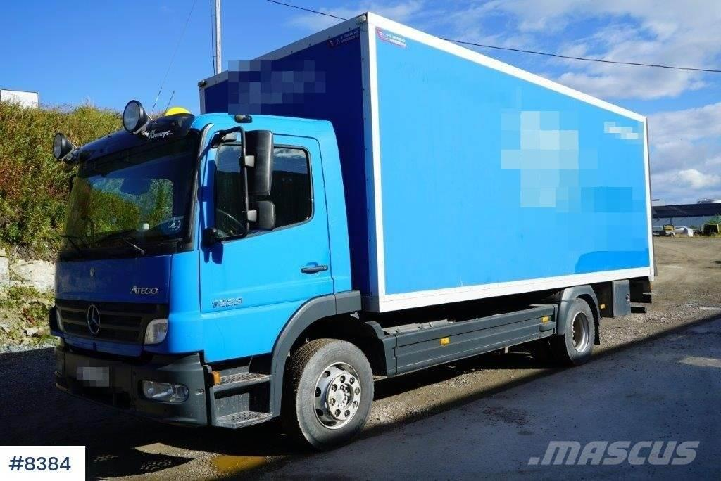 Mercedes-Benz Atego 1223 box truck
