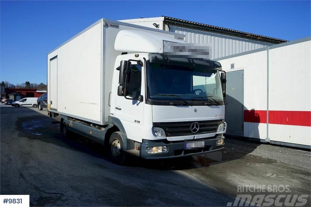 Mercedes-Benz Atego 818L box truck