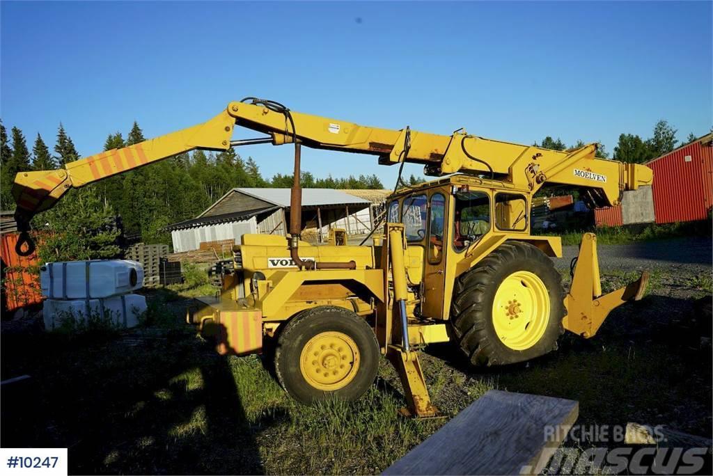 Moelven MK691 crane, in good condition!