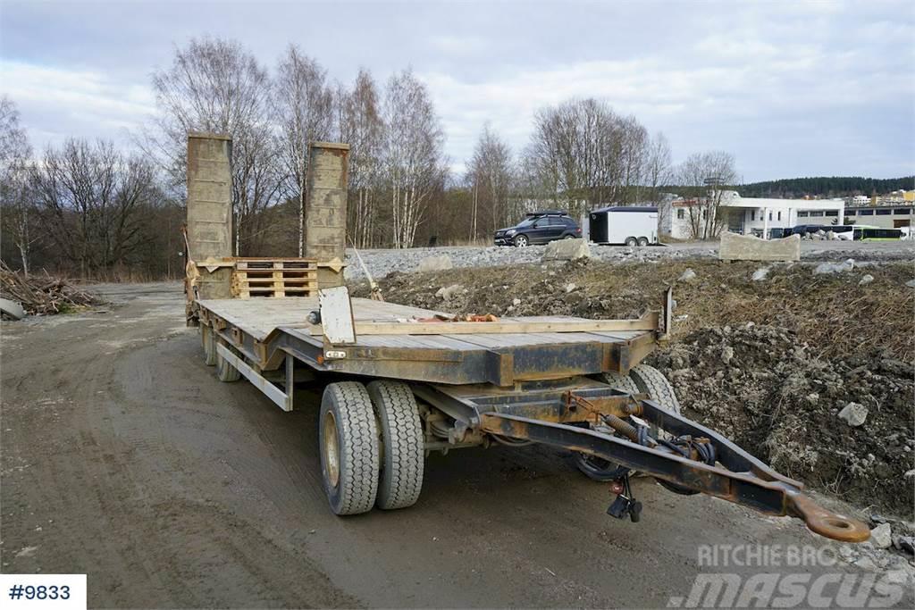 Müller T3-30 Machine trailer