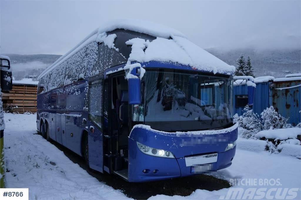 Neoplan Starliner 6x2 55 + 2 Tour bus.