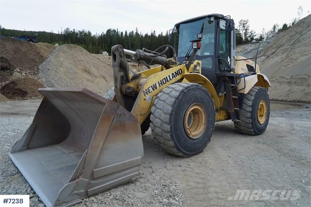 New Holland V270B Wheel loader w / weight and printer WATCH VI