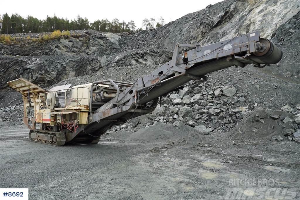 Nordberg / Metso LT105 crushing plant