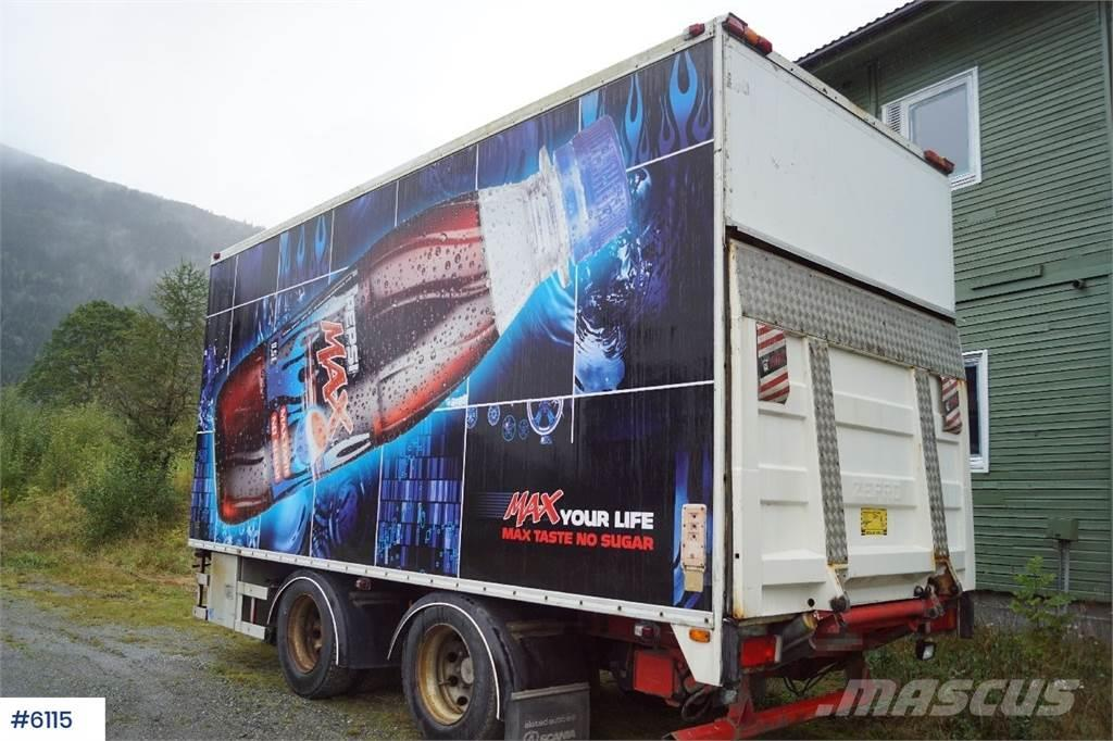 Norslep 2 axle thermo trailer with Bussbygg box and lift