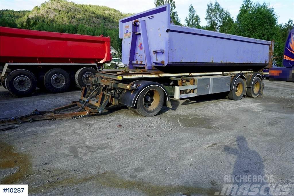 Norslep SL-28KT hook trailer w/ tipp