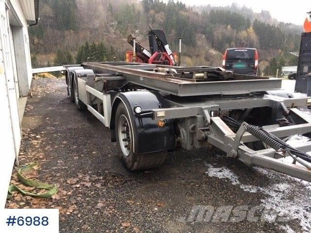 [Other] Nor-Slep SL-27KT 3 axle hook trailer with tipp