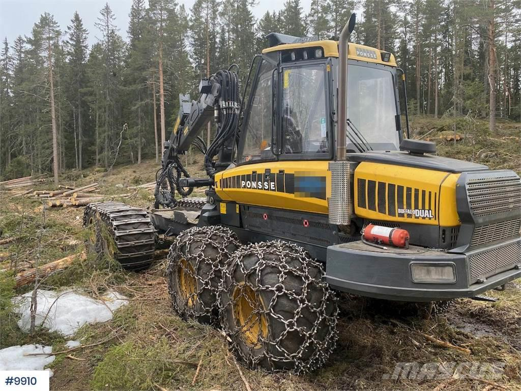 Ponsse Buffalo Dual kombinert combined Harvesting Machine