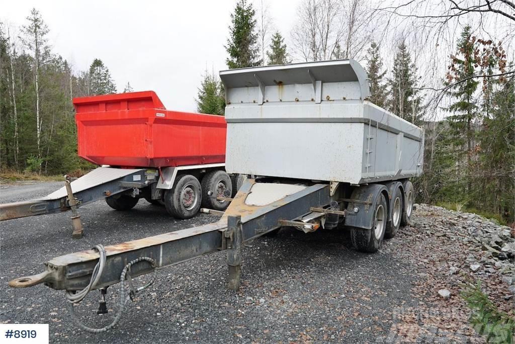 Primbox PCW240 tripple trailer