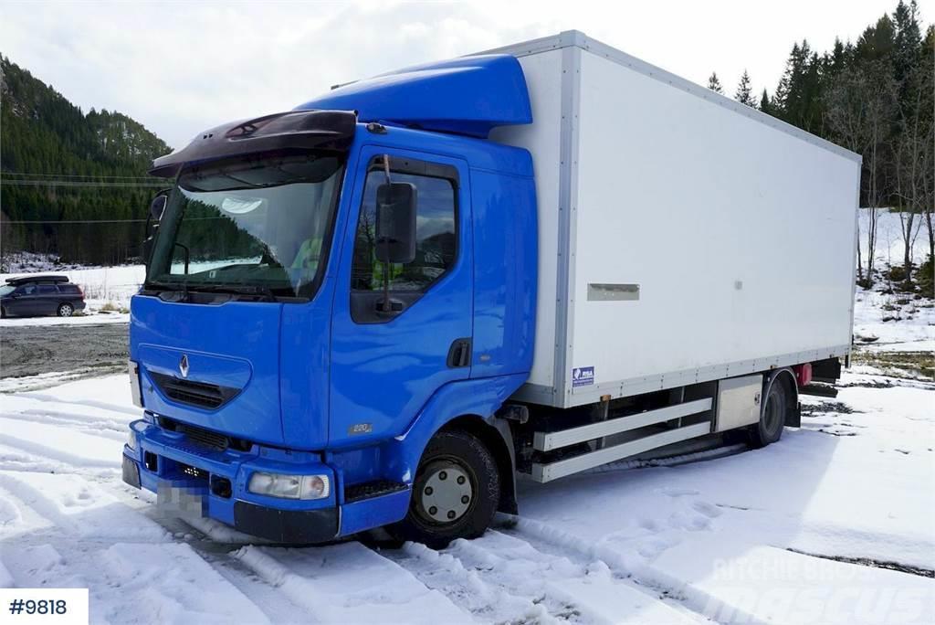 Renault Midlum box truck
